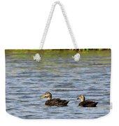 Mottled Ducks Weekender Tote Bag
