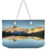 Mount Aspiring Moonrise Over Cascade Weekender Tote Bag
