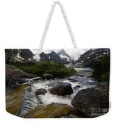 Mount Assiniboine Canada 17 Weekender Tote Bag