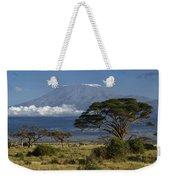 Mount Kilimanjaro Weekender Tote Bag