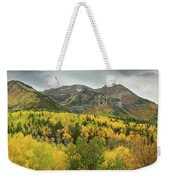 Mount Timpanogos Fall Colors Weekender Tote Bag