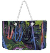 Mountain Forest Path Weekender Tote Bag