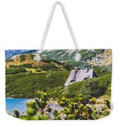 Mountain Lake In 5 Lakes Valley In Tatra Mountains, Poland. Weekender Tote Bag