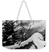 Mountain Snow 2 Weekender Tote Bag