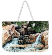 Mountain Stream Weekender Tote Bag