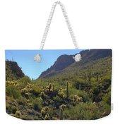 Mountains And Valleys Weekender Tote Bag