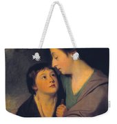 Mrs Richard Cumberland And Her Son Charles Weekender Tote Bag
