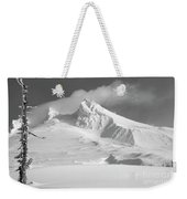 Mt. Hood In Winter Weekender Tote Bag