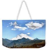 Mt Rainier Washington Weekender Tote Bag