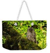 Muir Woods Owl Weekender Tote Bag