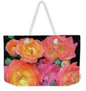 Multi-color Roses Weekender Tote Bag