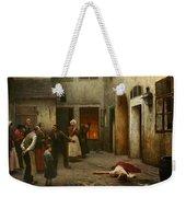 Murder In The House Weekender Tote Bag