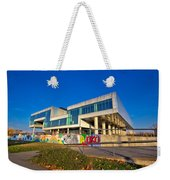 Museum Of Contemporary Art In Zagreb Exterior Weekender Tote Bag
