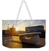 Museum Of Contemporary Art In Zagreb Exterior Detail Weekender Tote Bag
