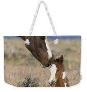 Mustang Mare And Foal Weekender Tote Bag