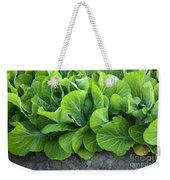 Mustard Greens Weekender Tote Bag