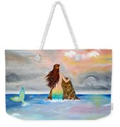 Mysteen The Mystical Queen Of The Sea Weekender Tote Bag