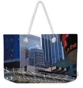 N Y C Architecture Weekender Tote Bag