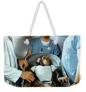 Nasa Chimpanzee, 1961 Weekender Tote Bag