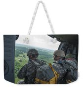 National Guard Special Forces Await Weekender Tote Bag
