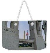 National World War II Memorial Weekender Tote Bag