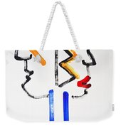 Native American Image Weekender Tote Bag
