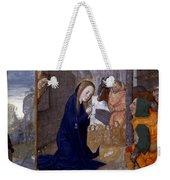 Nativity With Shepherds Weekender Tote Bag