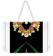Nature In Abstract Orchidaceae Weekender Tote Bag