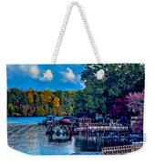 Nature Landscapes Around Lake Wylie South Carolina Weekender Tote Bag