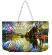 Nature Reflections Weekender Tote Bag
