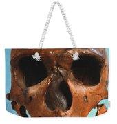 Neanderthal Skull Weekender Tote Bag