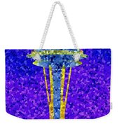 Needle In Mosaic Weekender Tote Bag