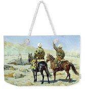 negotiators Surrender - Go to hell 1873 Vasily Vereshchagin Weekender Tote Bag