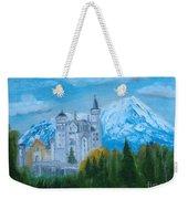 Neuschwanstein Castle In Bavaria Weekender Tote Bag