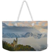 Neuschwanstein Castle Landscape Weekender Tote Bag