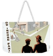 New Deal: Wpa Poster Weekender Tote Bag
