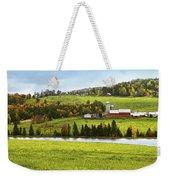 New England Farm Weekender Tote Bag