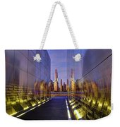 New Jersey Empty Sky 9-11 Memorial Weekender Tote Bag