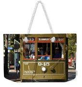 New Orleans Cable Car Weekender Tote Bag