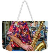 New Orleans Jazz Sax Weekender Tote Bag