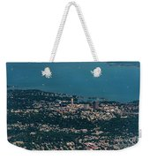 New Rochelle Real Estate Aerial Photo Weekender Tote Bag