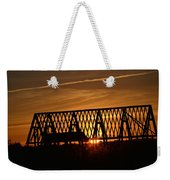New Roof At Sunset Weekender Tote Bag