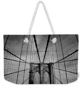 New York City - Brooklyn Bridge Weekender Tote Bag