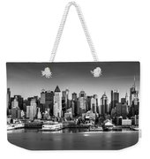 New York City Panorama Weekender Tote Bag