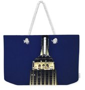 New York Empire State Building Weekender Tote Bag