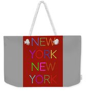 New York No 1 Weekender Tote Bag