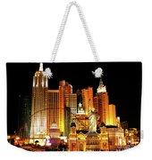 New York New York Hotel Weekender Tote Bag