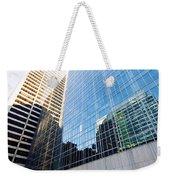 New York Street Weekender Tote Bag