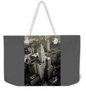 New York Woolworth Building - Vintage Photo Art Print Weekender Tote Bag