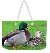 New Zealand - Mallard Ducks Weekender Tote Bag